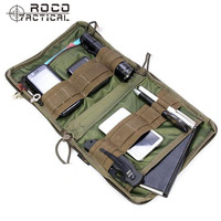 ROCO MOLLE Tactical EDC Pouch Tactical Low Profile OP Pouch Tactical Utility Accessories Bag Travel Organizer