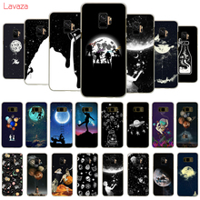 Lavaza Newest Space Moon Astronaut Hard Phone Cover for Samsung Galaxy S8 S9 S10 Plus A50 A70 A6 A8 A9 2018 Case