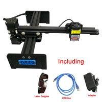 Desktop laser machine DIY arm robot 2417 DIY cnc engraving machine carving lable with 500mw 1000mw 2.5W 5.5W 10W laser head