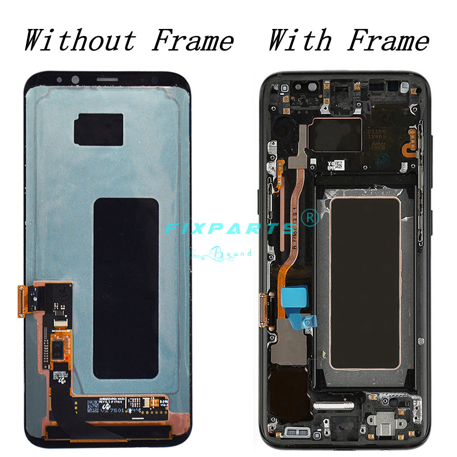 ORIGINAL AMOLED for SAMSUNG S8 LCD Display Touch Screen Digitizer Replacement for SAMSUNG GALAXY S8 Plus LCD (4)