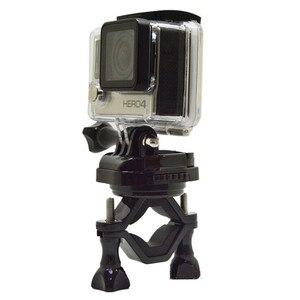 Image 2 - عمل كاميرا 360 درجة الروتاري الدراجة المقود حامل جبل القوس ل gopro بطل 6 5 4 3 sjcam xiaomi يي 4 كيلو الذهاب برو اكسسوارات