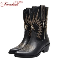 FACNDINLL 2019 fashion women mid-calf boots genuine cow leather sexy high heels party wedding shoes woman pointed toe high boots 2017 latest men s mid calf boots genuine leather zipper opening round toe riding equestrian chakku high boots itlian cow leather