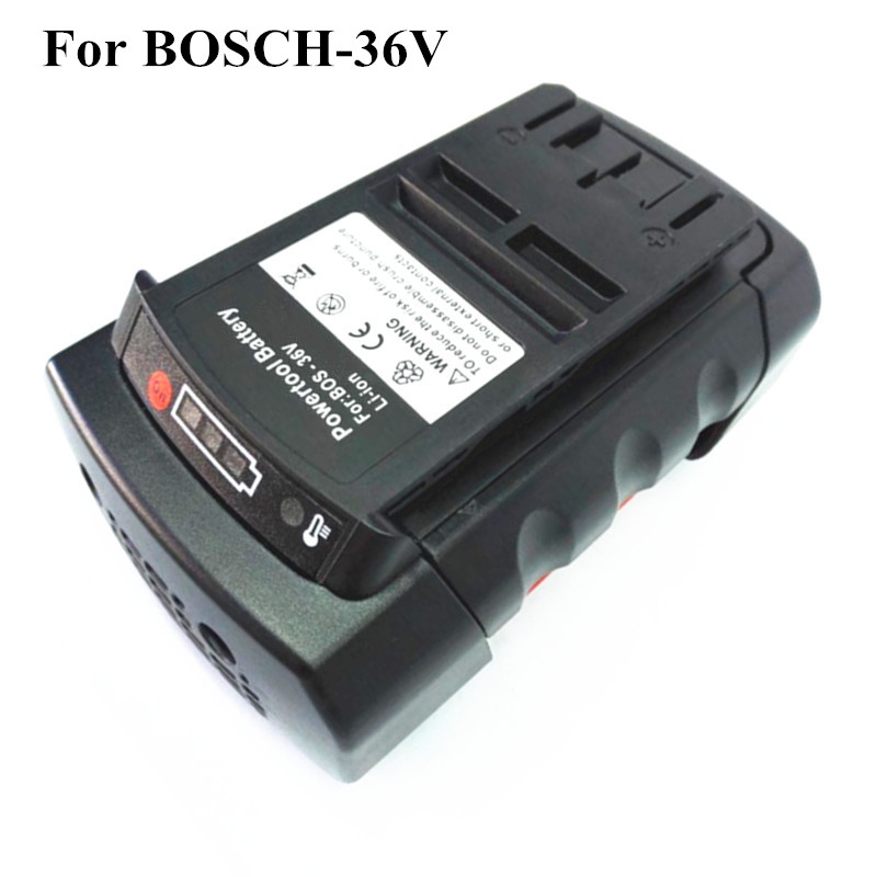 Prix pour 36 v 4.0Ah Li-ion Power Tool Batterie Remplacement pour Bosch 2 607 336 108 2 607 336 108 BAT810 BAT836 BAT840 D-70771