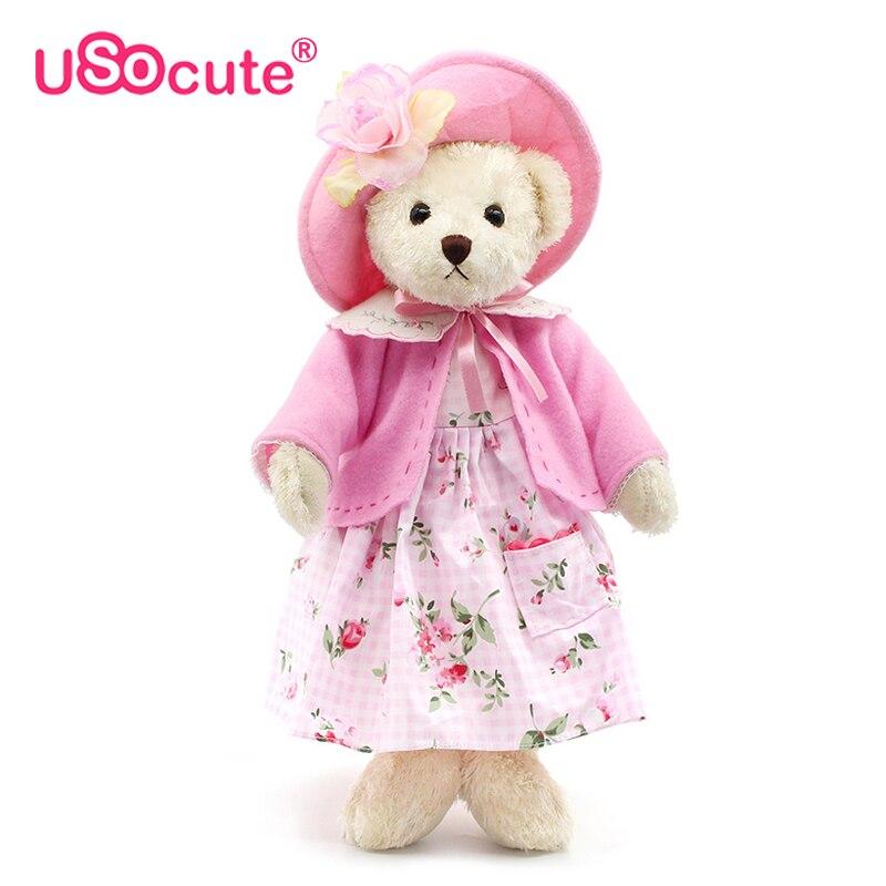 USOCUTE Rafinat Palace teddy ursuleți umplute păpuși jucării - Jucării moi și plușate