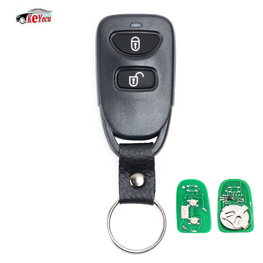 US $10 46 12% OFF KEYECU NEW 2 Button Remote Control Car Key Fob  Replacement Transmitter for Hyundai Kia Sportage 315MHz/433MHz-in Car Key  from