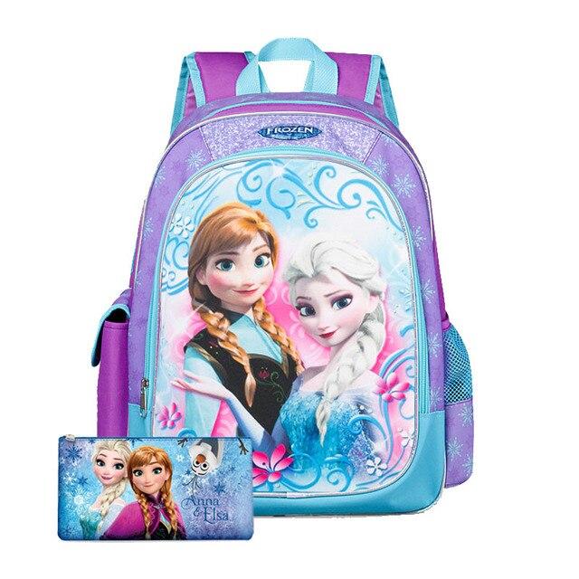 Cartoon School Bags Girl School Backpack Children Schoolbag Kids Bookbags Mochila Primary School Students Double Shoulder Bag