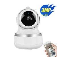 WIFI Camera PTZ IP Camera wifi 3.0megapixels CCTV Security Cameras IP Camera IR Home Surveilance two way audio wireless cam