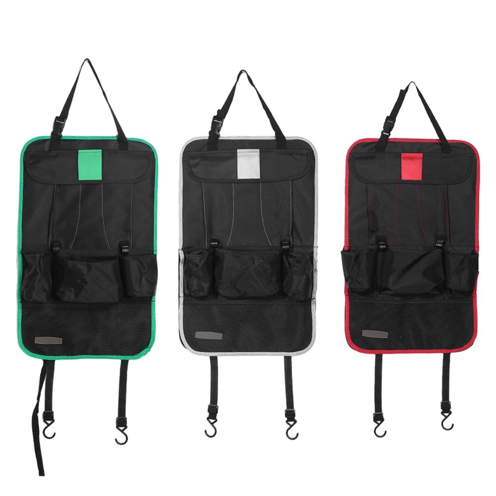 Car Auto Seat Back Bag Organizer Holder Multi-Pocket Travel Storage Hanging Bag Diaper Bag Baby Kids Car Seat Hanging Bag