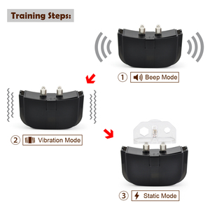 Image 3 - Petrainer 998D 1 300M Remote Control 100LV Shock + Vibra Electric Dog Training Collar for dogs