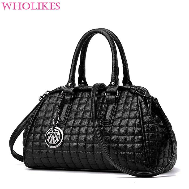 2017 Fashion Luxury Handbags Women Bags Designer Famous Brand Women's PU Leather
