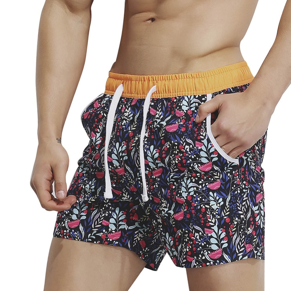 New Superbody Men 's   Shorts   Summer   Shorts   Fashion print male fashion   Board     Shorts