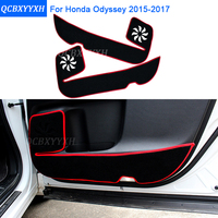 2 Colors Car Styling Protector Side Edge Protection Pad Protected Anti Kick Door Mats Cover For