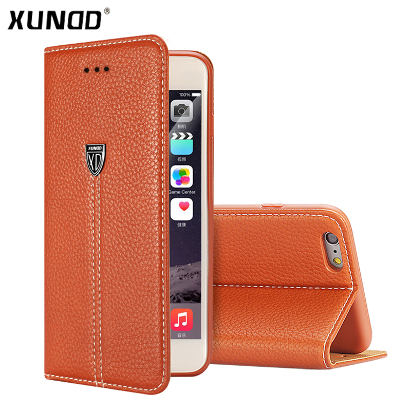 Xundd Luxury Wallet <font><b>Case</b></font> For <font><b>iPhone</b></font> 6 6s Plus PU <font><b>Leather</b></font> <font><b>Flip</b></font> <font><b>Case</b></font> Cover for <font><b>iPhone</b></font> <font><b>7</b></font> <font><b>7</b></font> Plus <font><b>case</b></font> fundas card slot image