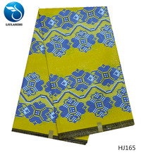LIULANZHI Cotton african java wax fabric for dress Hot sale ankara real veritable 6yards/lot HJ151-HJ176