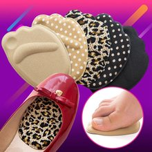 1Pair Anti-pain Sponge Big Shoes Toe Foot Toe Stopper Front Long Top Filler Half Forefoot Cushion Toe Plug(China)