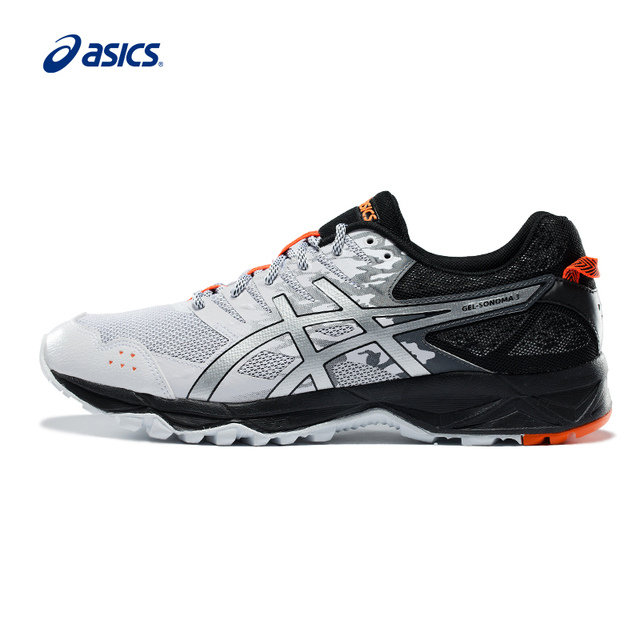 f569c425f51f 2018 Original Asics Men Gel-sonoma 3 Running Shoes Breathable Cushioning  Sports Shoes Trail Sneakers T724n