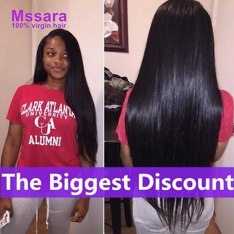 8a Brazilian Virgin Hair Straight 3 Bundles Unprocessed Human Hair