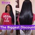 8A Brazilian Virgin Hair Straight 3 Bundles Unprocessed Human Hair Weave Straight Brazilian Hair Mink Brazillian Straight Hair