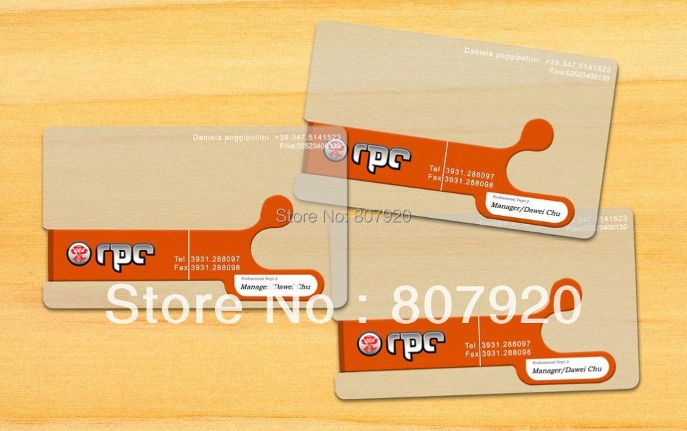 PVC plastic business card, name card, Transparent ,0.38mm ...