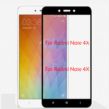 цена на 4g 64gb Tempered Glass For Xiaomi Redmi Note 4X Pro Prime Full Screen Protector Protective Film For Redmi Note 4X Xiaomi Glass