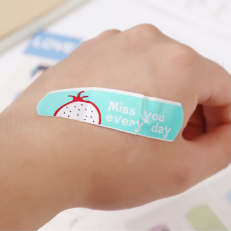 50 Pcs Children Wound Breathable Band-aid Patch Cartoon Waterproof Band-Aid Bandage 70mmx15mm