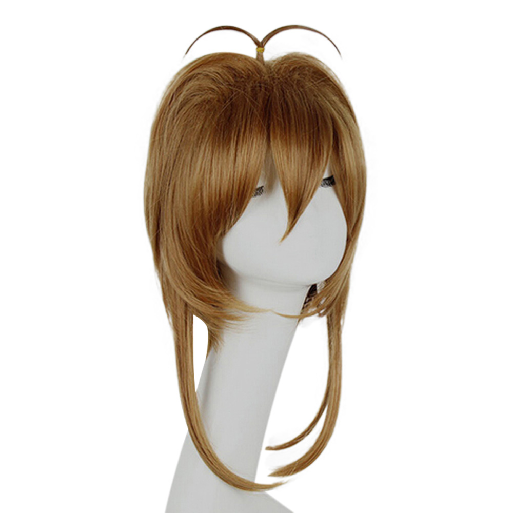 HAIRJOY Synthetic Hair Card Captor Sakura Cosplay Wig Costume Party Wigs Free Shipping 9