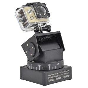 Image 5 - ZIFON YT 260 con Control remoto por radiofrecuencia, Control remoto por radiofrecuencia, inclinación panorámica motorizada para cámaras fotográficas, teléfonos móviles, cámara deportiva Go pro Sony con placa de 1/4 pulgadas