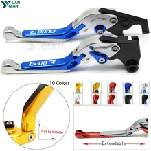 For BMW G310R 2017 2018 Motorcycle brake CNC Adjustable Foldable Brake Clutch Levers ccessories