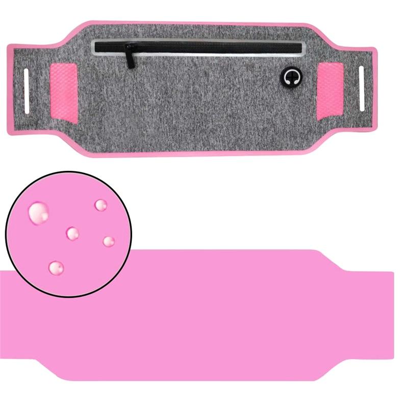 Outdoor Running Waist Bag Waterproof Mobile Phone Holder Jogging Belt Belly Bag Women Gym Fitness Bag Lady Sport Accessories 16