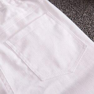 Image 5 - GB Kcool חדש אופנה 2017 ילדים ארוכים מכנסיים אביב סתיו בני מזדמן 100% כותנה לבן סקיני מכנסיים דקים ילדים שחור מכנסיים