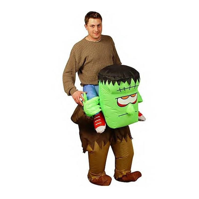 high quality inflatable halloween the monster game clothing for adults party fancy dress disfraces costume for man - Halloween Costume Monster
