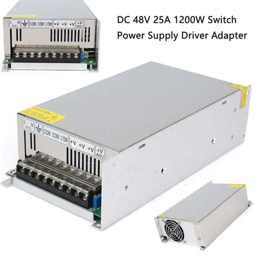 48V 25A 1200W Universal Regulated Switching Power Supply Driver for CCTV camera LED Strip output to DC 48V48V 25A 1200W Universal Regulated Switching Power Supply Driver for CCTV camera LED Strip output to DC 48V