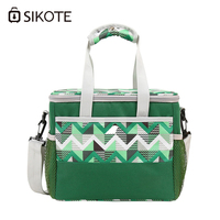 SIKOTE Cooler BagsThicken Folding Fresh Keeping Waterproof Storage Portable Car Thermal Insulated Ice Pack Picnic Lunch