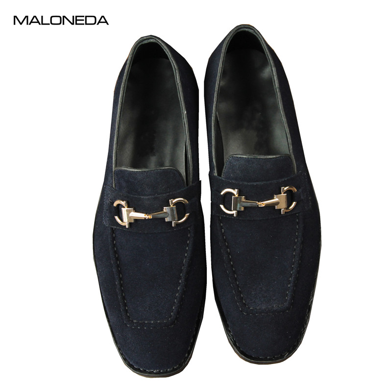 MALONEDA Custom New Genuine Cow Suede Handmade Mens Casual Slip On Shoes Loafers With Goodyear Welted High Quality ShoesMALONEDA Custom New Genuine Cow Suede Handmade Mens Casual Slip On Shoes Loafers With Goodyear Welted High Quality Shoes