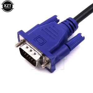 Image 2 - Mới Nhất 1 Chiếc Màn Hình Máy Tính 1.3M VGA Sang VGA Có HDB15 Nam Để HDB15 Nam Cổng Kết Nối Cho Máy Tính tivi Bộ Chuyển Đổi