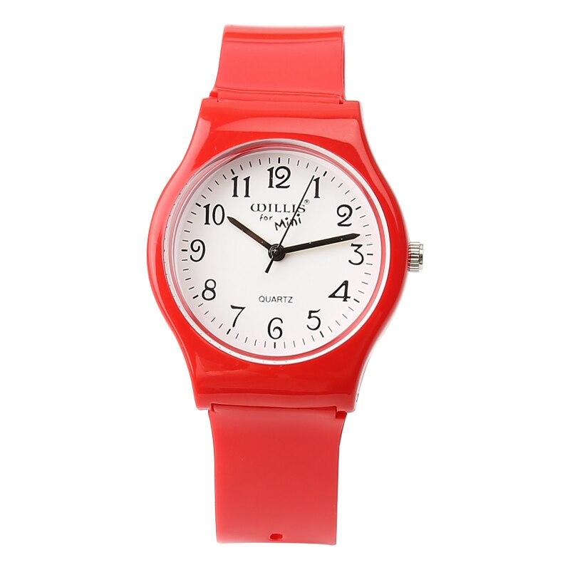 New Fashion Enkel Transparent Mini Quartz Watch Vattentät Silikon - Barnklockor - Foto 3