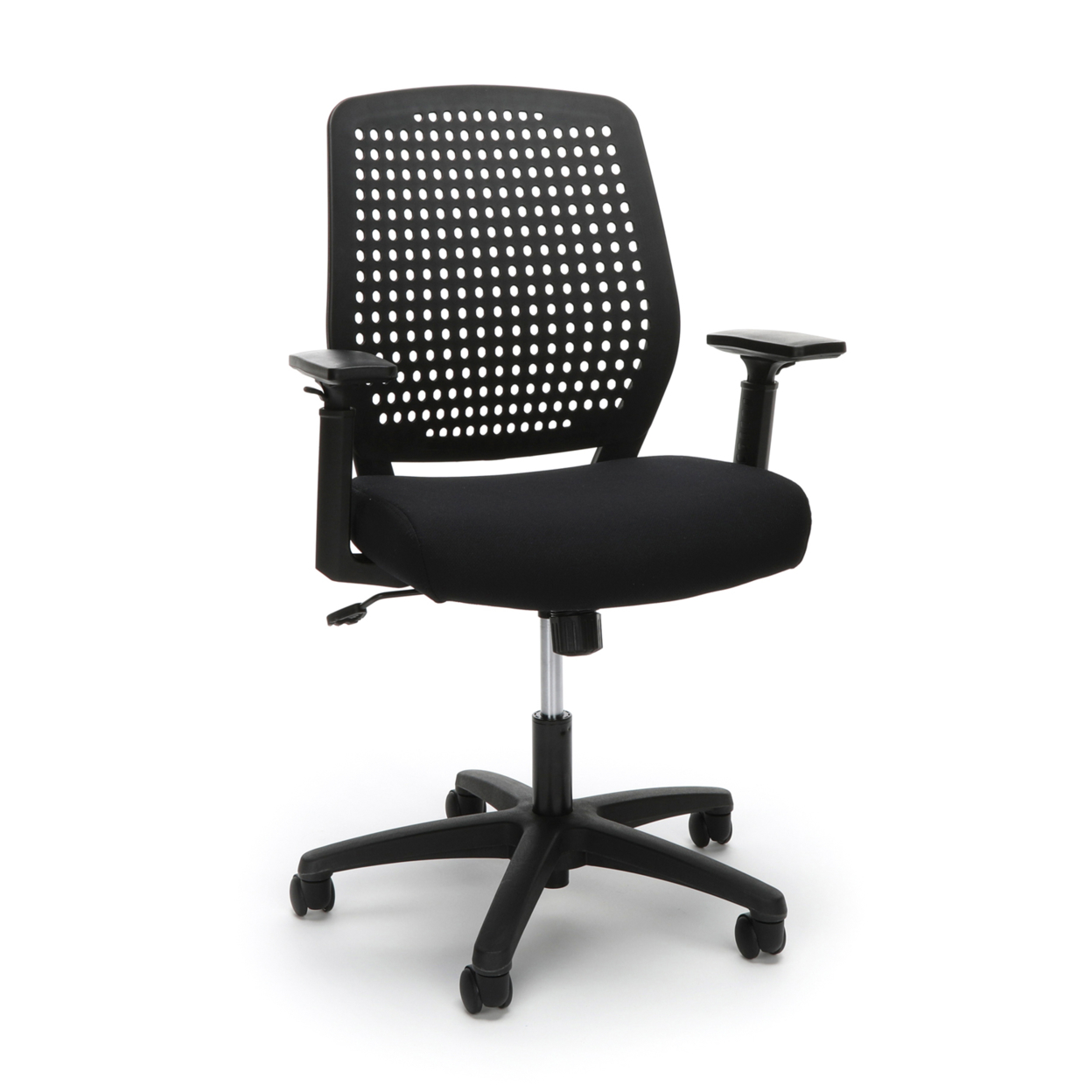 Model ESS-2055 Essentials By Model Plastic Back Ergonomic Task Chair ...