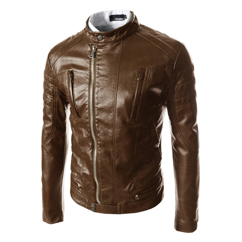 Cheap brown leather jackets