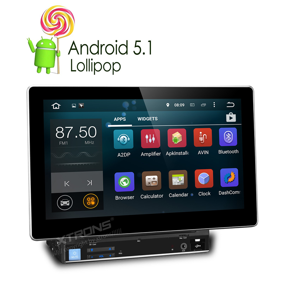 10 1 39 39 android 5 1 quad core 2 din car stereo dvd gps 1024. Black Bedroom Furniture Sets. Home Design Ideas