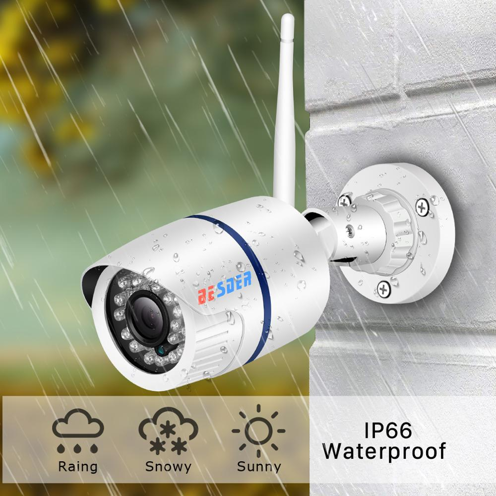 Image 4 - BESDER 720P/1080P Wifi IP Camera Yoosee Outdoor Waterproof Home Security Camera Wireless CCTV Surveillance SD Card Max 128GB-in Surveillance Cameras from Security & Protection