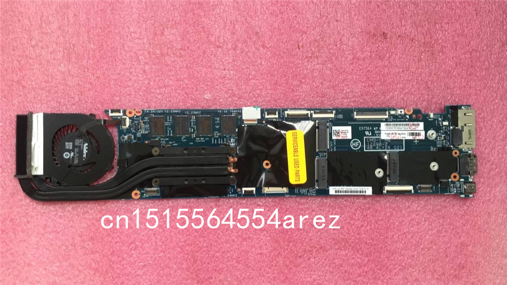 все цены на Original laptop Lenovo ThinkPad X1 CARBON TYPE 20A7 20A8 motherboard mainboard i5 i5-4300 CPU W8P 4GB with fan FRU 00UP975 онлайн