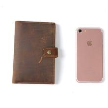 Бумажник из натуральной кожи с карманом для карт