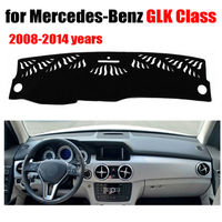 Car dashboard covers mat for Mercedes Benz GLK Class 2008 2014 years Left hand drive dashmat pad dash cover auto accessories
