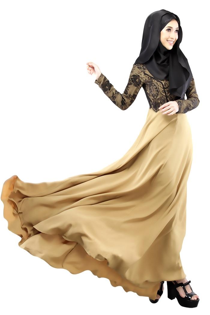 Long dress muslimah 2018 gmc