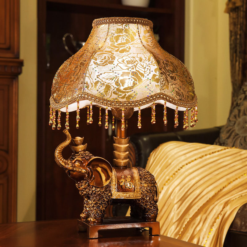 Popular elephant table lamp buy cheap elephant table lamp for B q living room lights