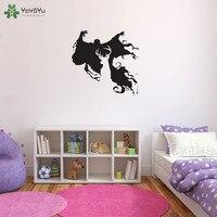 Harry Potter Wall Stickers Vinyl For Kids Room Dementors Wall Decal Boys Bedroom Deer Pattern Design