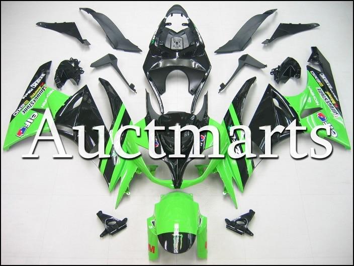 For kawasaki ZX-6R 2009 2010 2011 2012 high quality ABS Plastic motorcycle Fairing Kit Bodywork ZX6R 09 10 11 12 ZX 6R CB05 330 6r