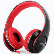 Gaming Headset Music Headphone with Microphone Mobile Phone Bass Noise Isolating Brand Beevo 3.5mm 740