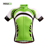 WOSAWE Summer Cycling Jersey Short Sleeve Mtb Cycling Shirt Bike Clothes Bicycle Clothing Ropa Ciclismo Sport T shirt