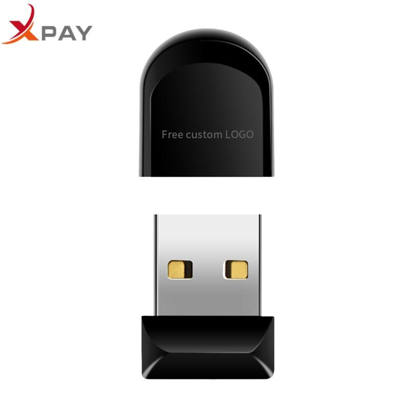 Image 4 - USB 2.0 mini usb flash drive 32gb black plastic pen drive Real capacity 4GB 8GB 16GB 64GB 128GB plastic pendrive free print LOGO-in USB Flash Drives from Computer & Office